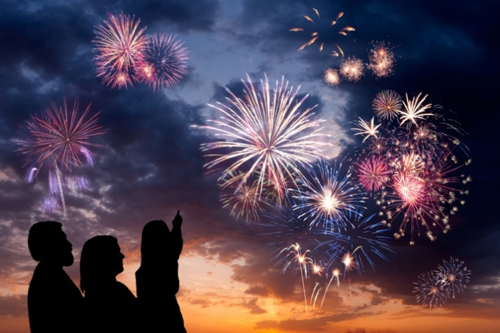 Fireworks_Sunset