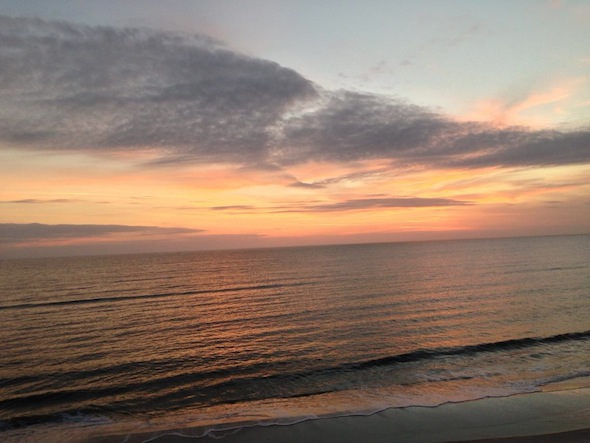 Kelly Lynn Lawson took this picture of Mexico Beach's beloved view of the Gulf of Mexico on New Year's Eve.