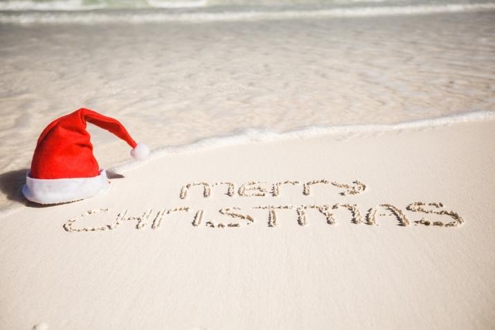 ho ho ho - Merry Christmas Beach