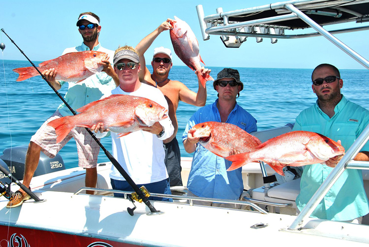 mexico-beach-fishing-group