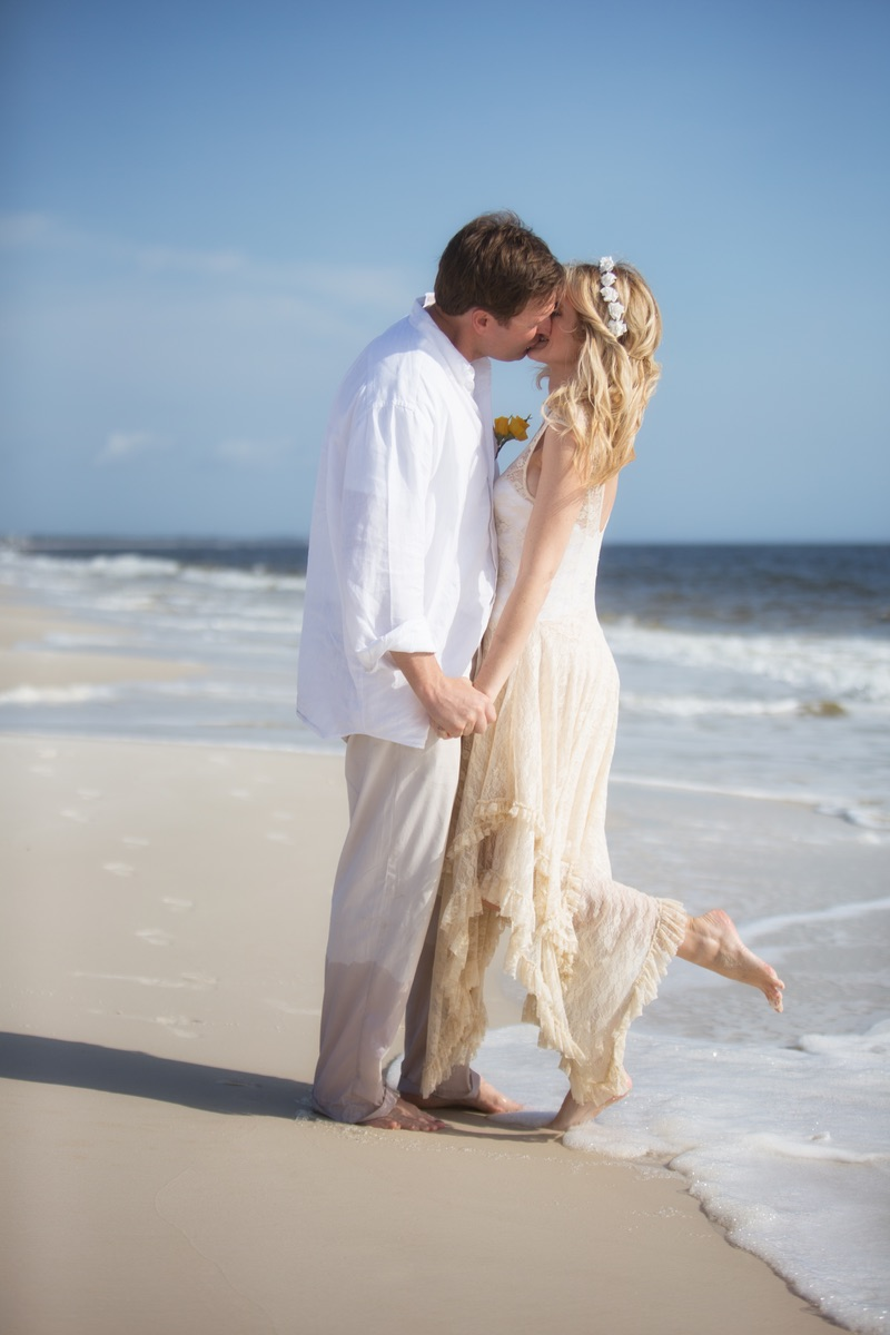 Florida White Sand Beach Weddings