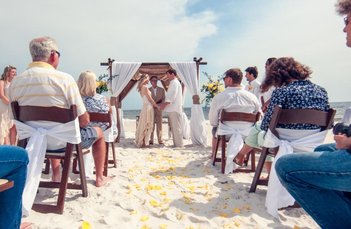 A Florida Beach Wedding
