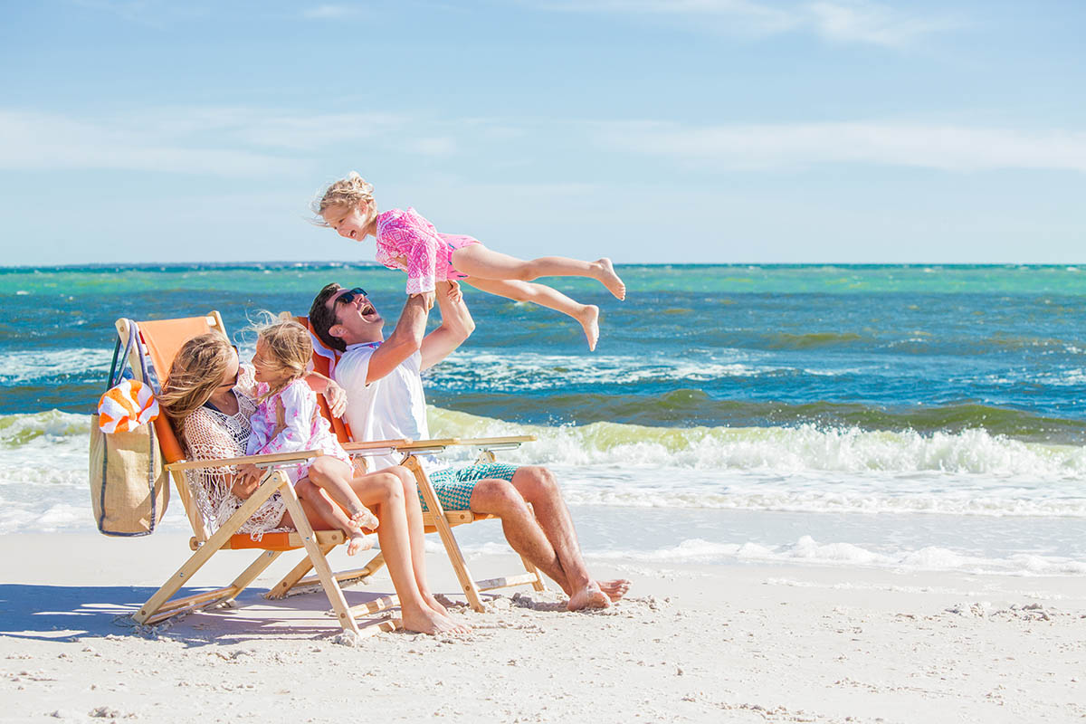 Family Vacation In The Sugary Shores Of Mexico City Beach Florida