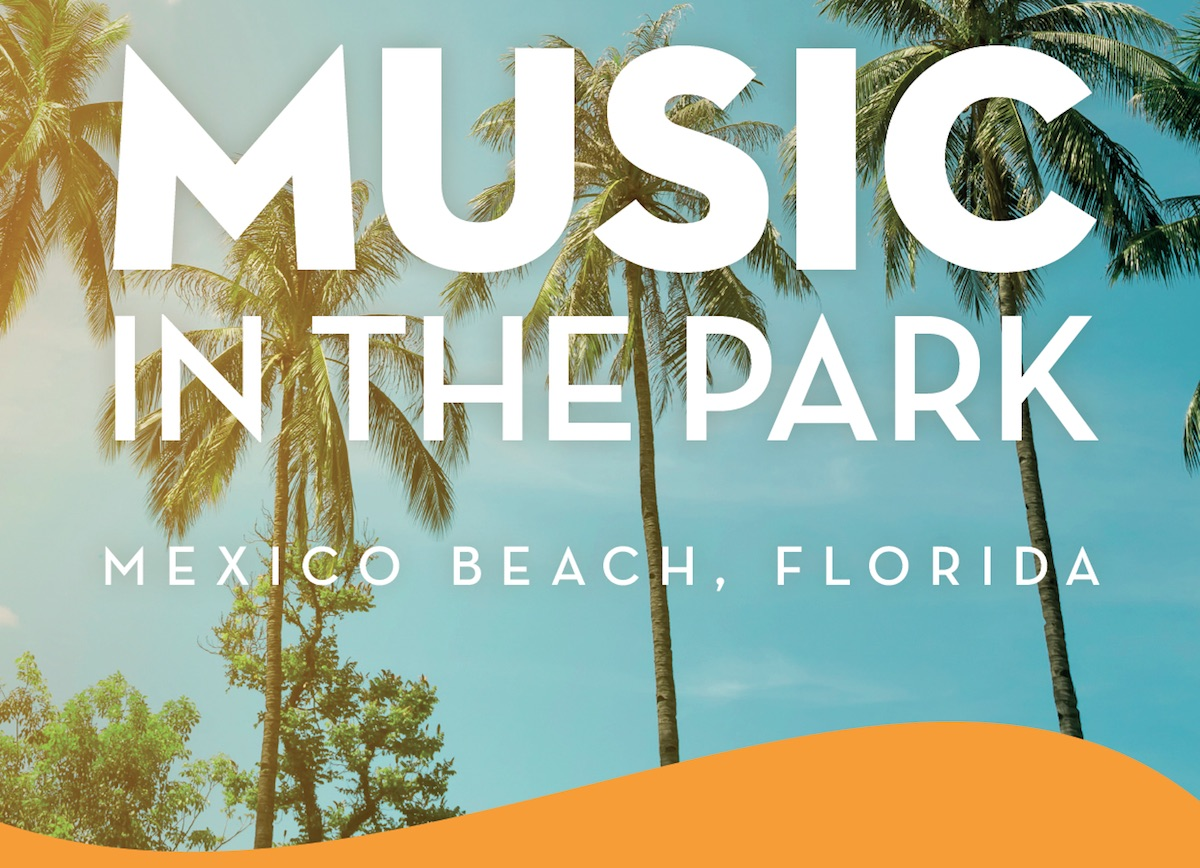 Mexico Beach Florida Music in the Park