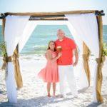 2017 Mexico Beach Vow Renewal, Sunset Park, Florida