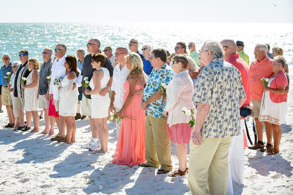 On Saay April 8 2017 Mexico Beach Hosted Its Third M Vow Renewal Ceremony The Opened Up To Married S Who Reaffirmed Their