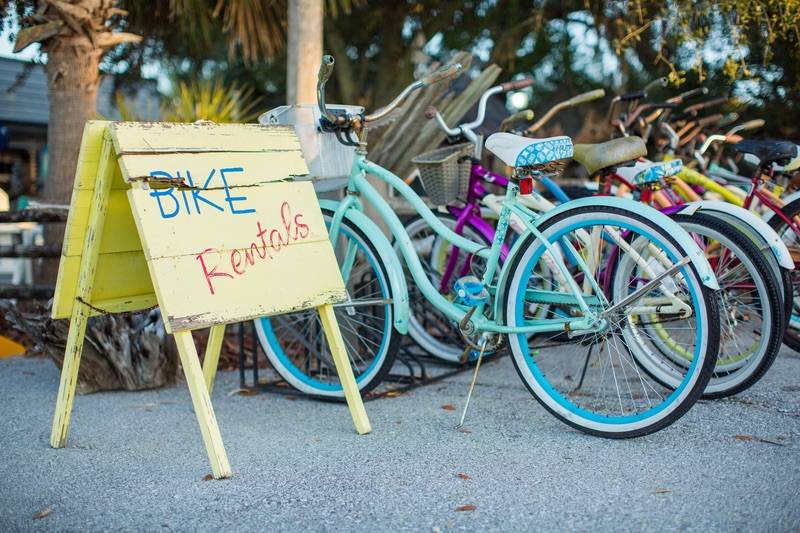 Bike rentals in Mexico Beach