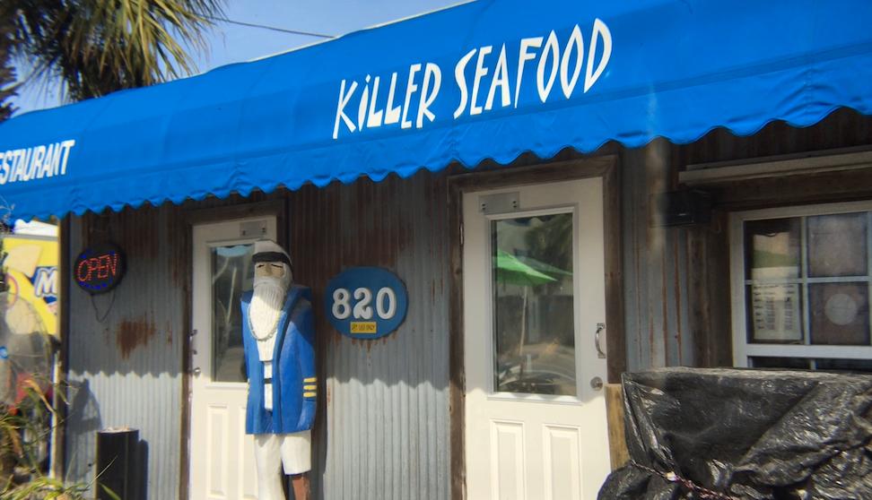 Killer Seafood Exterior
