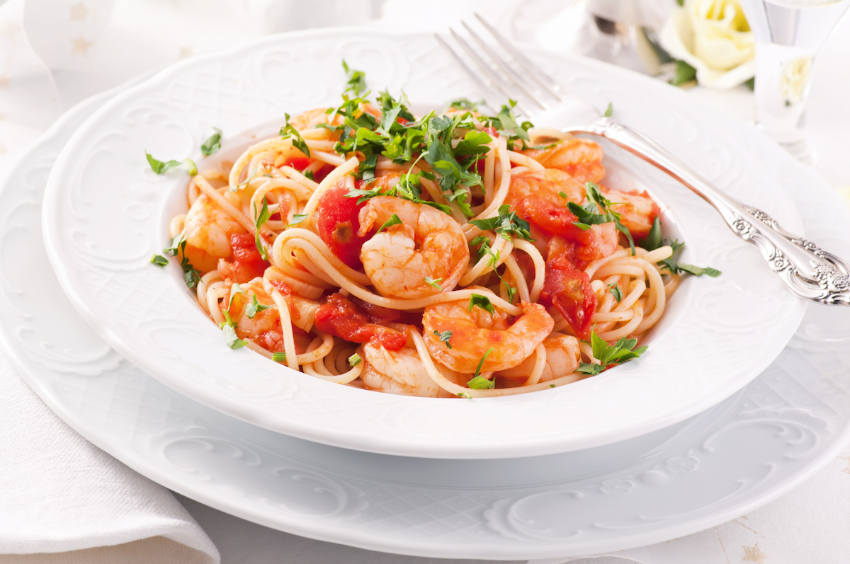 shrimp pasta diavolo recipe mexico beach florida mbara cookbook