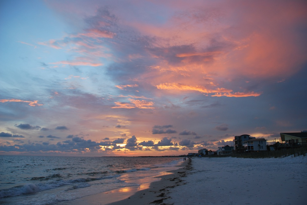 mexico beach florida beach sunsets