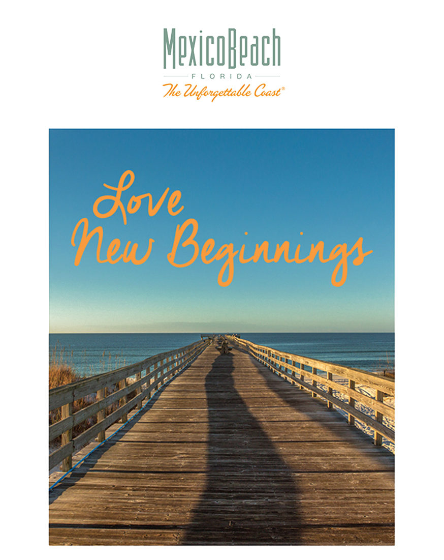 Mexico Beach January 2018 Newsletter Love New Beginnings