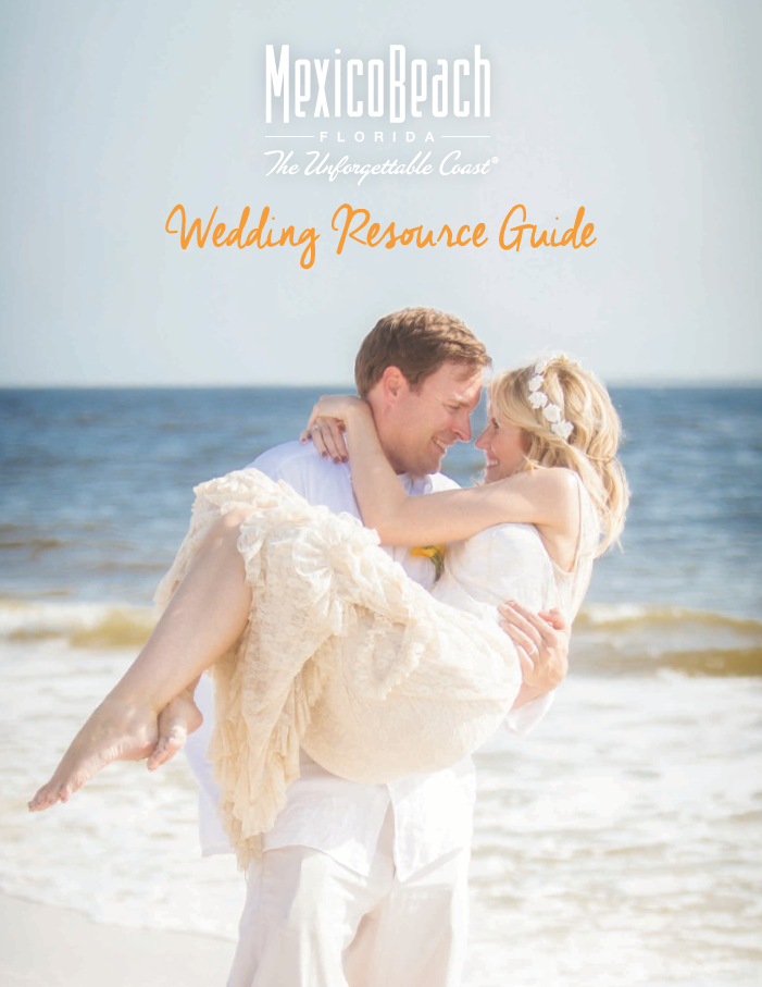 Download the Mexico Beach 2018 Wedding Resource Guide
