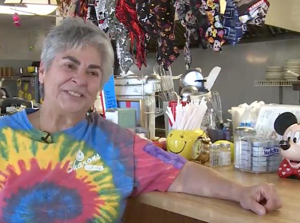 Sharon Call of Sharon's Cafe in Mexico Beach, Florida