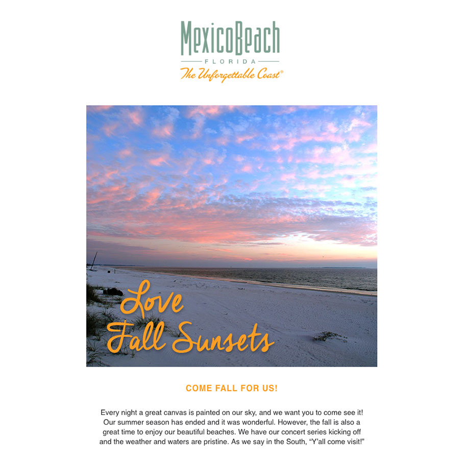 Mexico Beach Florida - September 2018 eNewsletter