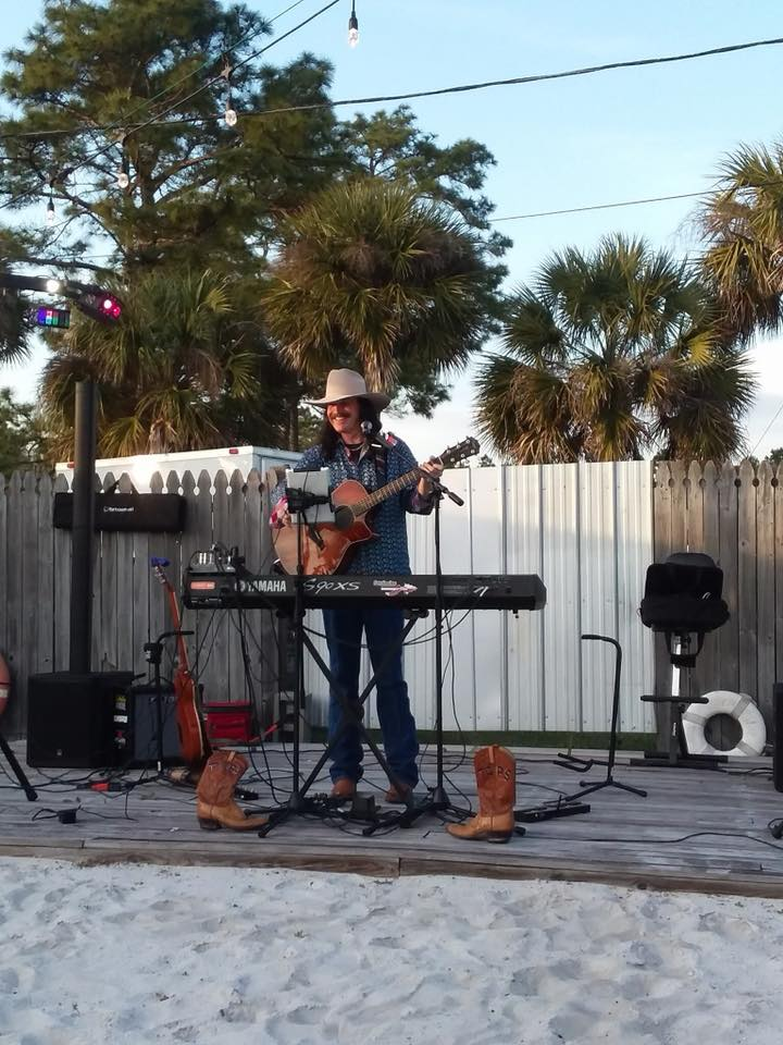 Whip-O-Will Still Charles Gaskin Musician Mexico Beach Florida