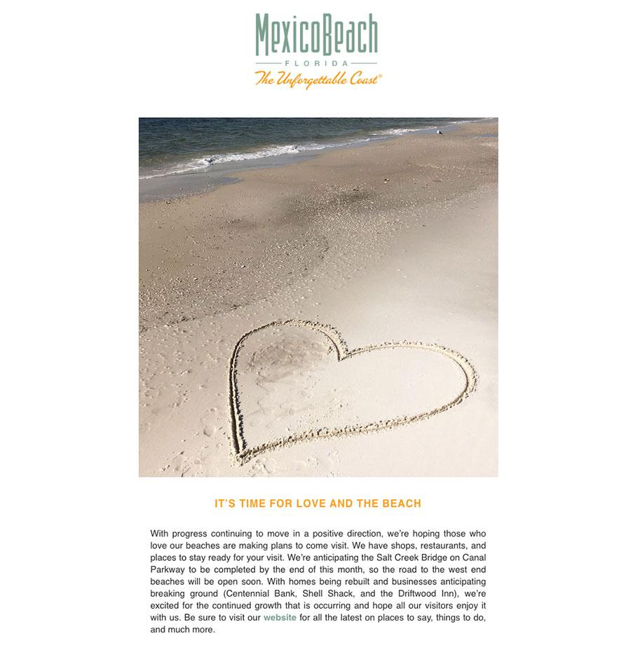 Mexico Beach Florida - February 2020 eNewsletter